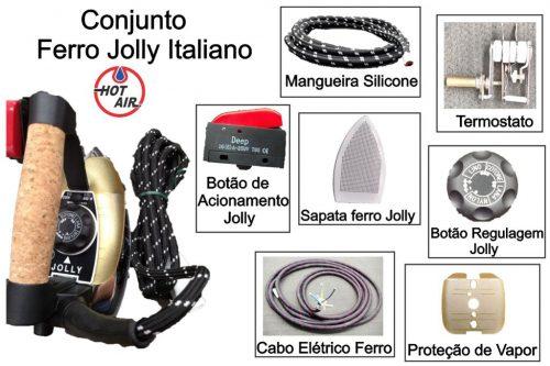 Conjunto Ferro Jolly Italiano
